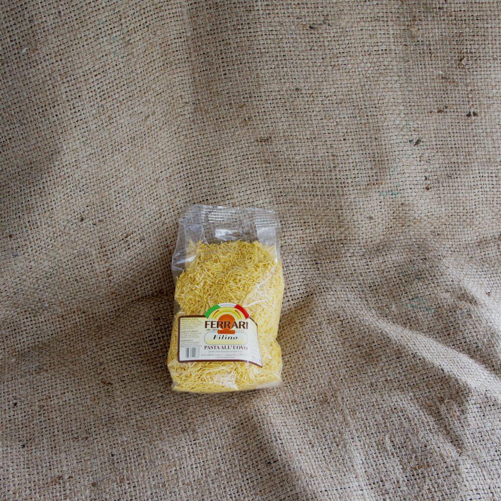 Cuscino per pasta in brodo